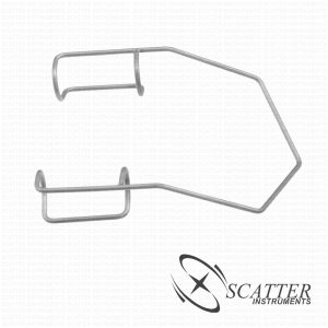 Barraquer Lid Speculum Closed Blade Nasal Approach