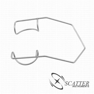 Barraquer Lid Speculum Closed Rounded Blade Nasal Approach