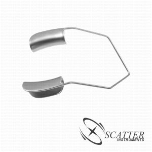 Barraquer Lid Speculum Solid Blade Nasal Approach