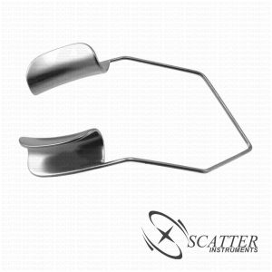 Barraquer Lid Speculum Solid Blade Temporal Approach