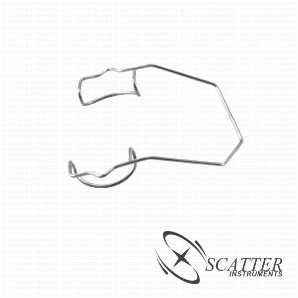 Grandon Barraquer Wire Speculum With Suture Notches