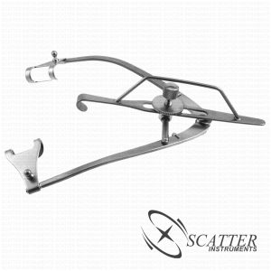 Guyton Park Lid Speculum Fenestrated Blade Nasal Approach