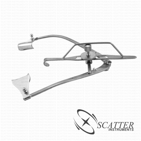 Guyton Park Lid Speculum Solid Blade Nasal Approach