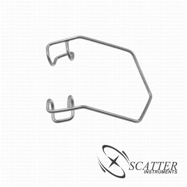 Infant Barraquer Lid Speculum Closed Blade Nasal Approach