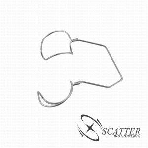 Kratz Barraquer Lid Wire Speculum With Wings Nasal Approach