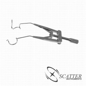 Lieberman FemotoSecond Laser Lid Speculum  Rounded Blade