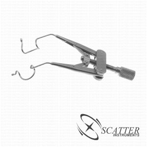 Lieberman Pediatric Lid Speculum Open Wire Blade Nasal Approach