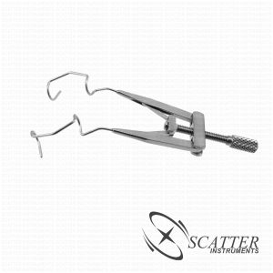 Lieberman V-Shapped Lid Speculum Temporal Approach