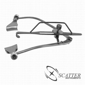Maumenee Park Eye Speculum Solid Blade With Canthus Hook