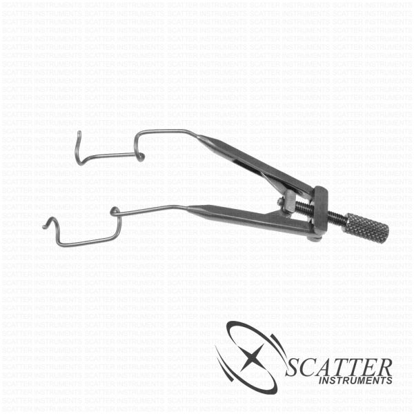 Seltzer Flattened K-wire Lid Speculum Temporal Approach
