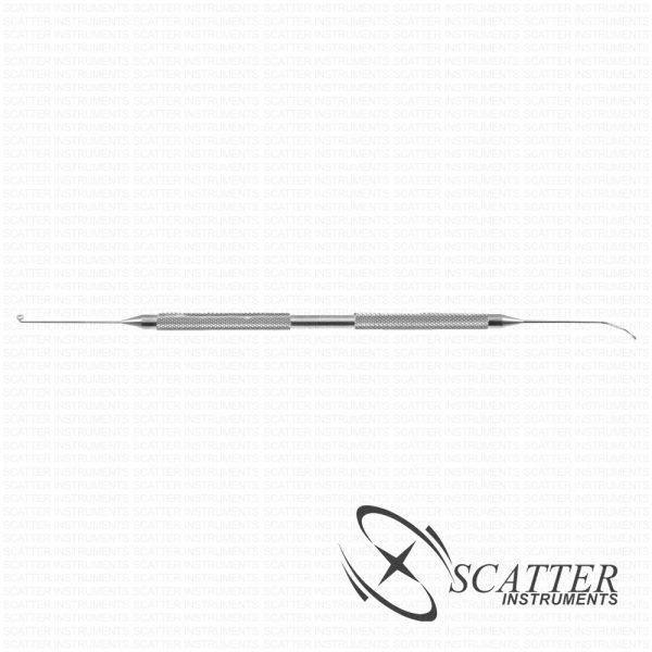 Scatter Capsule Polishing Sweeper/Curette Double Ended