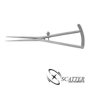 Castroviejo Epker Caliper, 40mm Measuring Range, 18cm