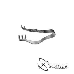 Finsen Retractor 5cm 2x3 Prongs