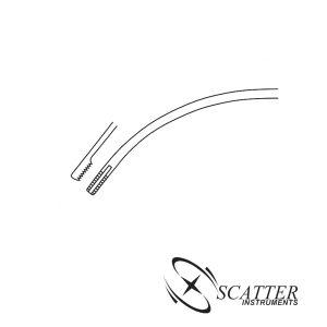 Dingman Cartilage Abrader 15cm Curved Left